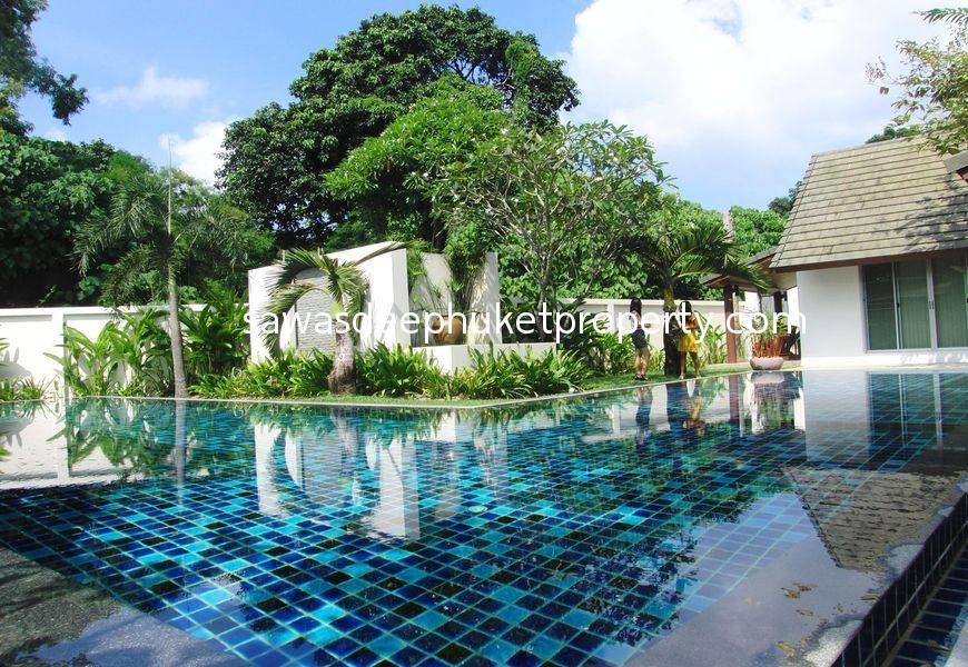HOT DEAL!! 4 Pool Villas with total 8 Bedrooms near Chalong Bay For Sale
