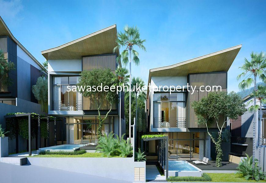Modern Style 3 Bedroom Pool Villa For Sale