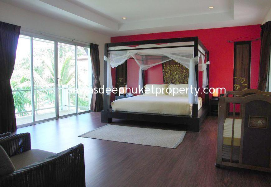 Fully Furnished 3 Bedroom Pool Villa on Large Land Plot for Sale