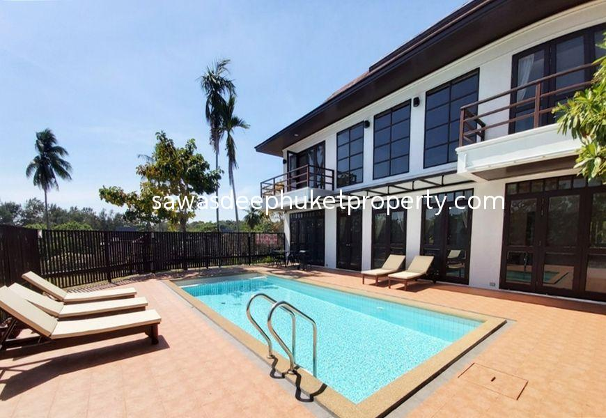 3 Bedroom Pool Villa near Rawai Beach For Sale